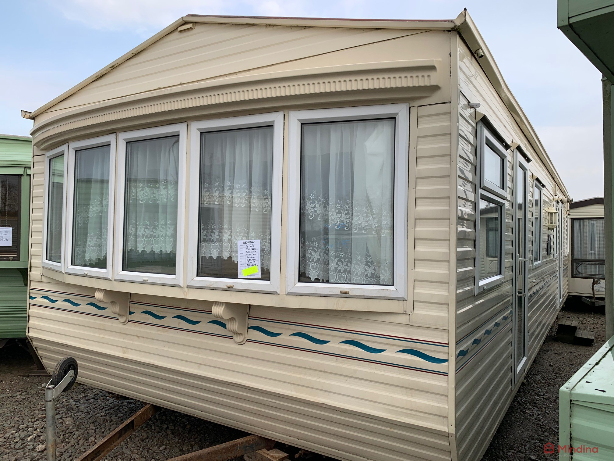 Willerby Leven 3,7×11,5 NUOSTABUS!!!